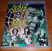 Spider Baby Blu Ray/DVD Special Edition Arrow Video Region A/B 1/2 Jack Hill