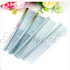 1pcs Puppy Pet Dog Cat Animal Stainless Steel Teeth Comb Hair Grooming Sales S