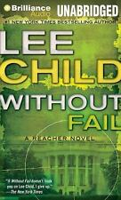 WITHOUT FAIL unabridged audio book on MP3 CD by LEE CHILD