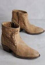 New Free People Faryl Robin Nitro Ankle Campus Womens Boots Size 10 Tan