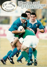 "Fiesta coi ""Pumas Italy Rugby Booklet, Old Rugby Piacenza Italy v Argentina 1998"
