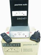 MIB PEACHTREE AUDIO DAC-iTX DIGITAL TO ANALOG CONVERTER+BOX/RC/ACCYS 1-OWNER