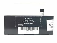 MONTBLANC  CERVANTES LIMITED EDITION CERVANTES BALLPOINT  PEN NEW IN BOX SEALED