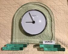 OGGETTI ITALY OMODOMO TABLE TOP CRYSTAL CLOCK, GERMANY New Vintage