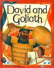 David and Goliath (Bible Stories (Hardcover Franklin Watts))-ExLibrary