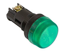 NPL-22 ATI Green LED Pilot Indicator Light 22mm 120V AC/DC Replaceable Lamp