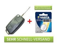 Schlüssel Gehäuse 2- Klappschlüssel für VW Golf 4 IV Sharan Touran Polo 9N TDI