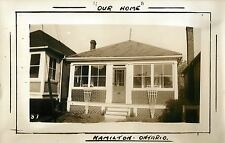 """A View of """"Our Home"""", Hamilton ON Canada RPPC"""