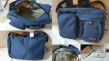 Shoulder Bag SATIVA Hemp Cotton Blue Denim Bag Eco Friendly Durable