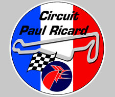 CIRCUIT PAUL RICARD RACING TRACK AUTOCOLLANT STICKER 75mm(PA001)