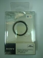 Genuine Sony VF-49MPAM 49mm MC Carl Zeiss Protector Filter 100% Original