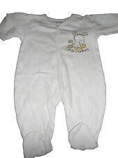 Ergee toller Schlafanzug / leichter Strampler Gr. 56 weiß mit kleinem Eselmotiv