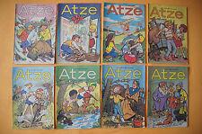 Zeitschrift ATZE, Jahrgang 1989, 8 Hefte, mit Fix und Fax von Jürgen Kieser