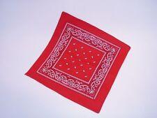 rosso Cowboy Foulard stampato per Cowboy Costumi Carnevale Western foulard