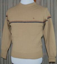 Vintage Christian Dior Monsieur Retro MENS Sweater S Small 100% 2-ply Wool