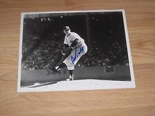 N.Y. Yankees Bob Turley Signed/Autographed Baseball 8x10 Photo/Free Shipping
