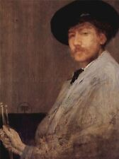 JAMES MCNEILL WHISTLER SELF PORTRAIT OLD MASTER ART PAINTING PRINT 1430OMA