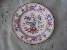 Royal Worcester England Fine Bone China Colorful Plate in EUC 6 1/2 ""