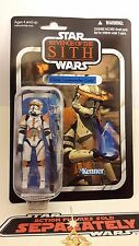 Star Wars Vintage Collection VC19 Clone Commander Cody 2010 Mint on card.