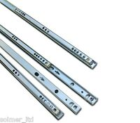 5 Pairs Metal Ball Bearing Drawer runner Pr 310mm draw depth for 17mm - 10105