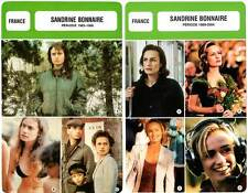 FICHE CINEMA x2 : SANDRINE BONNAIRE de 1983 à 2004 -  France (Biographie,Filmo)