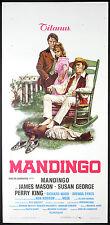 CINEMA-locandina MANDINGO mason,george,king,ward,FLEISCHER