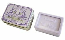 LE BLANC - Lavender-Scented Soap in Floral Tin Box
