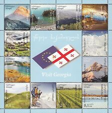 2012 Europa CEPT - Georgia - souvenir sheet