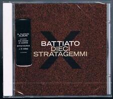FRANCO BATTIATO - DIECI STRATAGEMMI - CD SIGILLATO!!!