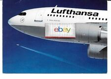 LUFTHANSA GERMAN AIRLINES AIRBUS A-310-300 AIRLINE ISSUE POSTCARD