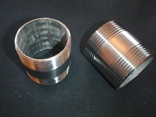 "STAINLESS STEEL NIPPLE 1 1/2"" NPT x 2"" LONG PIPE NP-150-020"
