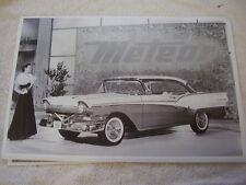 1957 FORD FAIRLANE HARDTOP   CANADAIN METEOR  11 X 17  PHOTO   PICTURE