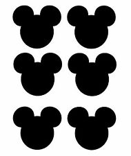 Mickey Mouse head shadow 6 T-shirt Iron on transfer