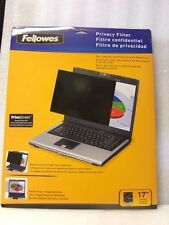 """Fellowes, Monitor Privacy Screen, 17"""",  CRC48003, or, 865497,  UPC  043859541478"""