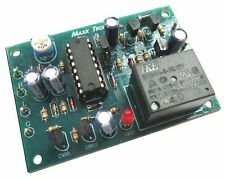 Delay Off Timer 1-120minutes Active High / Active Low to start timer 12VDC