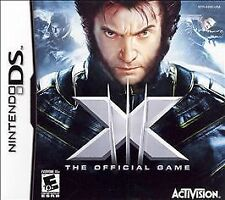 X-Men: The Official Game (Nintendo DS, 2006) Replacement Case and Manual
