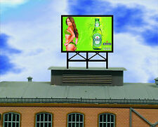 Animated Billboard Heineken  for rooftop building sides roadsid HO N OO