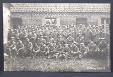 Weltkrieg Gruppenfoto viele Orden Militär Soldaten - AK Postkarte (Lot-I-3306