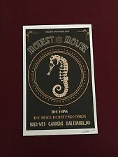 Modest Mouse The Shins Screen Print Concert Poster 88/200 Baltimore MD Sept 26
