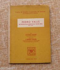 Pedro Valls, un pintor igualadino en el Teatro Real, Antonio Carner, 1955, C.E.C