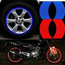 18 Strips Bike / Motorrad / Auto-Rad-Reifen-Aufkleber Reflektierende Felgenband