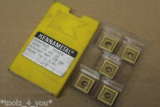 5x New Kennametal SNMP 15 06 12 KC850 Carbide Inserts For Turning CI297