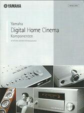 Yamaha Katalog Prospekt 2003 MCX-1000 DPX-1000 LPX-500 DSP-Z9 RX-V2400 MX-D1