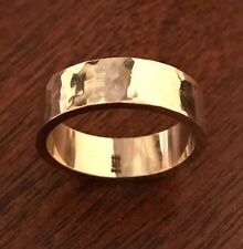 James Avery Refleccion Wedding Band 14K Gold Hammered Ring