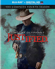 Justified: The Complete Fourth 4th Season (DVD, 2013, 3-Disc Set, Canadian)