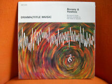 VINYL 33T – BOOSEY & HAWKES : DRAMA TITLE MUSIC – LIBRARY FOR FILM TV AND RADIO