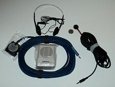 POOL PRO.Kit, 2 Hydrophones,large & small pool leak detection Amp with speaker