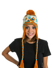 CUTE WINTER WARMER OFFICIAL POKEMON CHARIZARD PATTERN LAPLANDER BEANIE HAT *NEW*