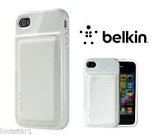iPhone 4 Funda BELKIN Grip Edge Blanca