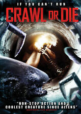 CRAWL OR DIE WIDESCREEN DVD MOVIE TOMMY BALL NICOLE ALONSO UNRATED FREE SHIPPING